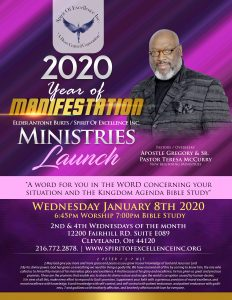 Spirit Of Excellence Inc. A New Beginning Ministry invites you to join in on the manifestitation of momentum...